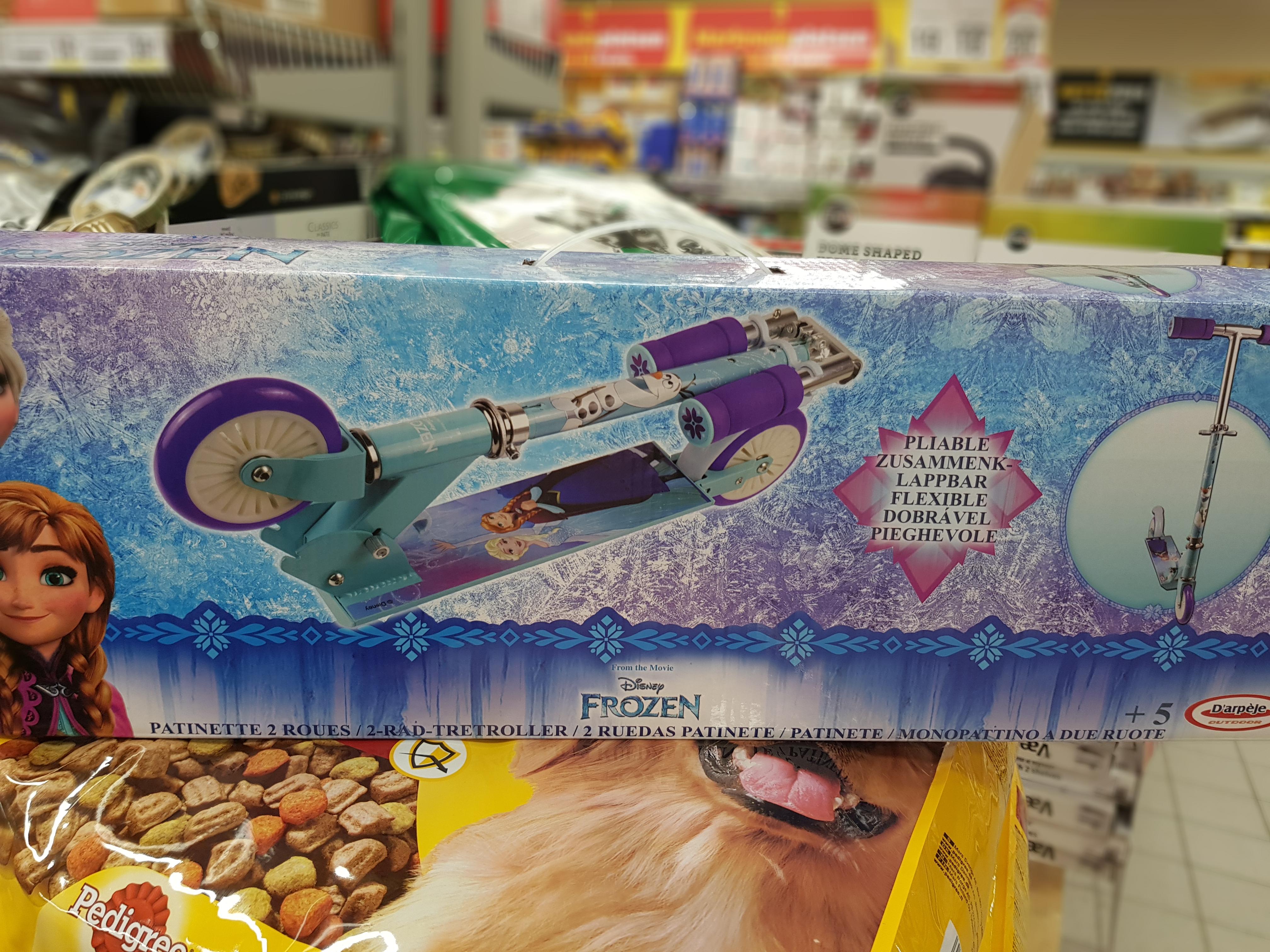Frost sparkcykel från Netto